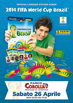 Panini Tour World Cup Brazil 2014