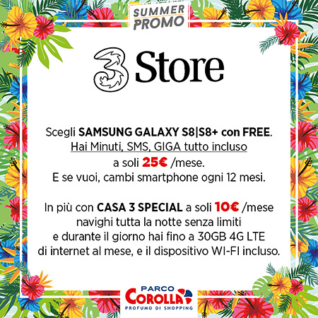 3Store Summer Promo