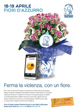 Il 18 e 19 Aprile...Ferma la violenza, con un fiore