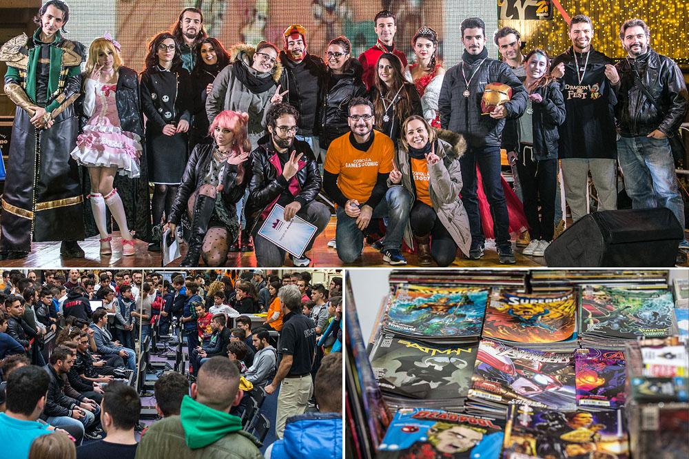 Corolla Games & Comics, il trionfo della fantasia