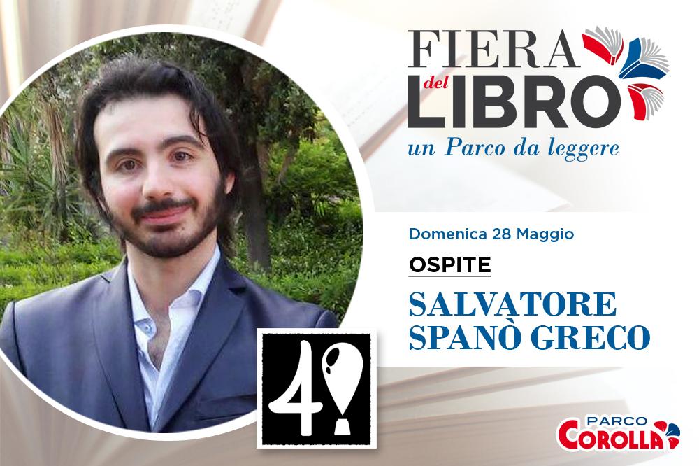 SALVATORE SPANÒ GRECO alla Fiera del Libro