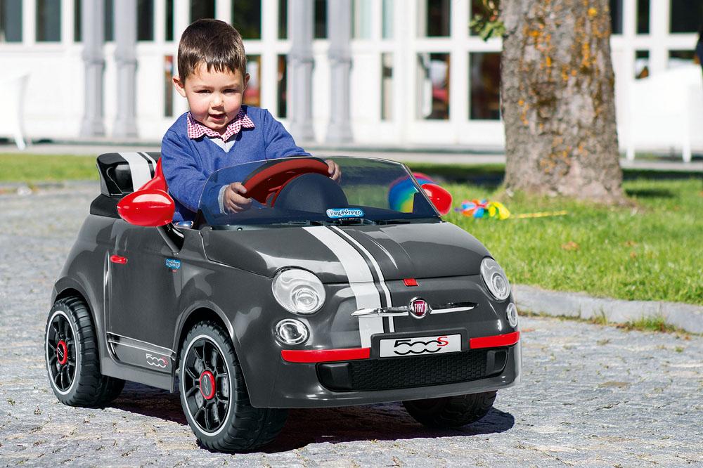 Guidare è un gioco da bambini