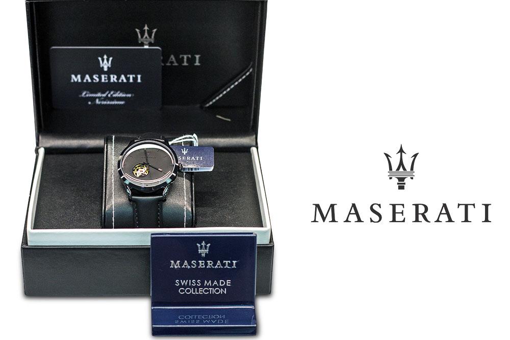 Maserati, perfezione al polso