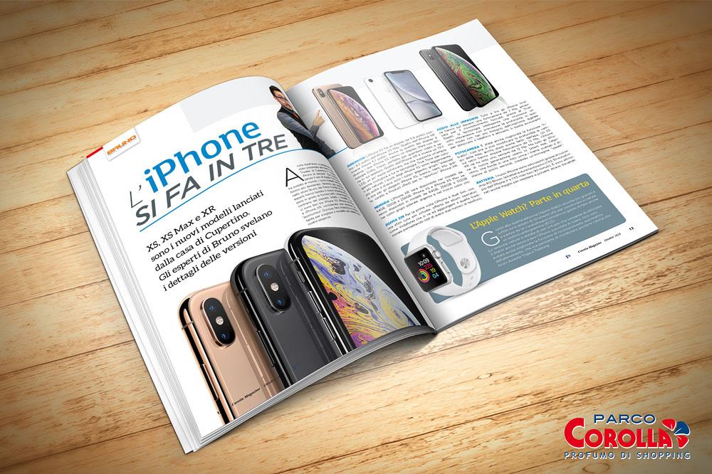 L'iPhone si fa in tre