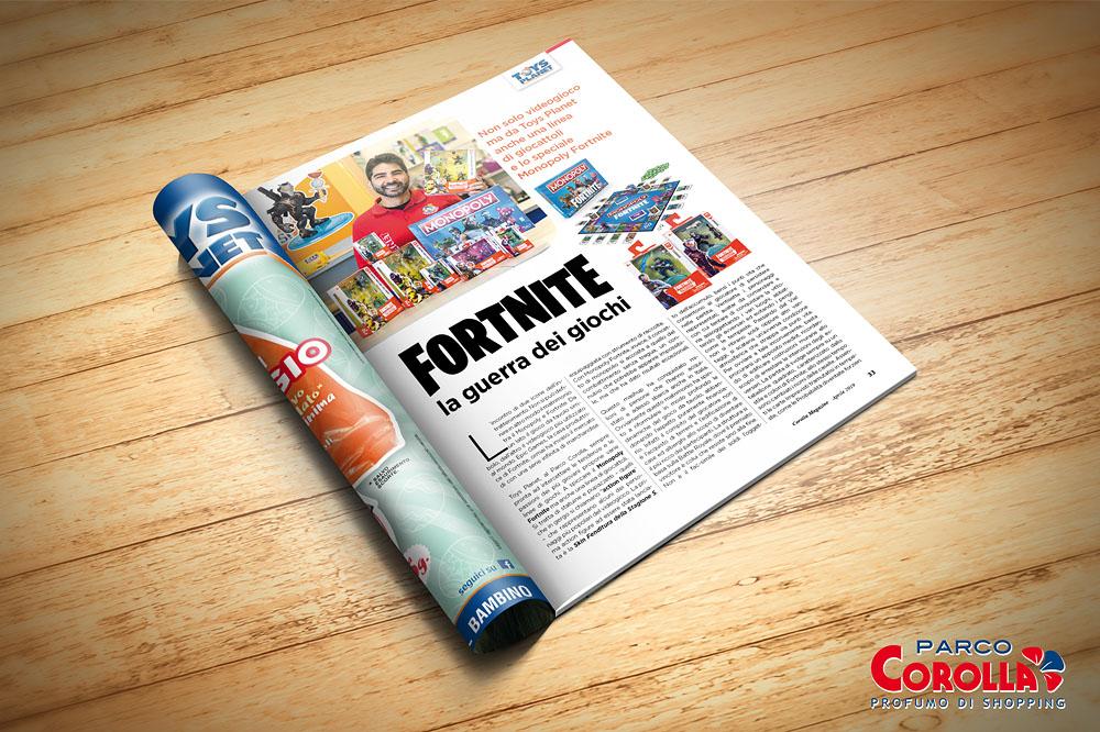 Fortnite, la guerra dei giochi