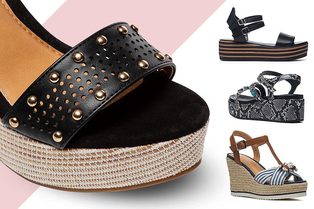 Sandali con le zeppe: le voglio solo fashion