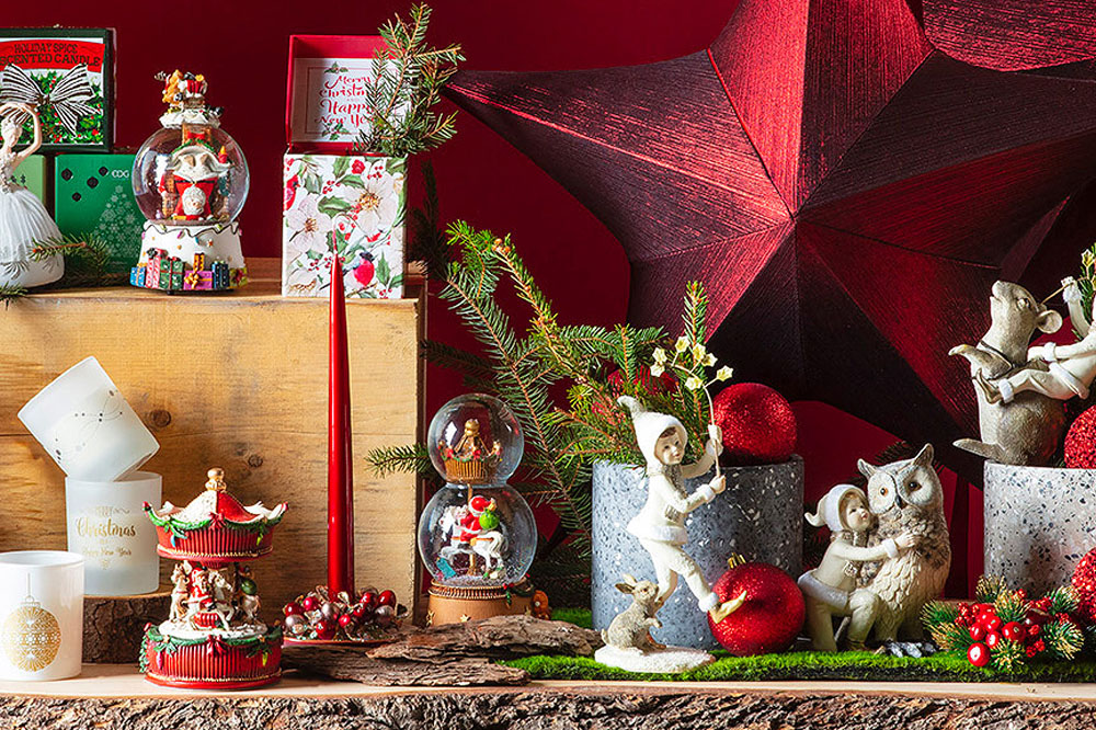 Natale, anche gli addobbi hanno stile