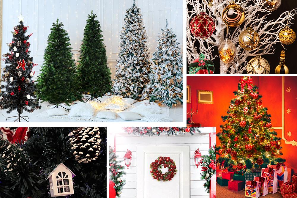 Alberi, ghirlande e decorazioni originali per un magico Natale