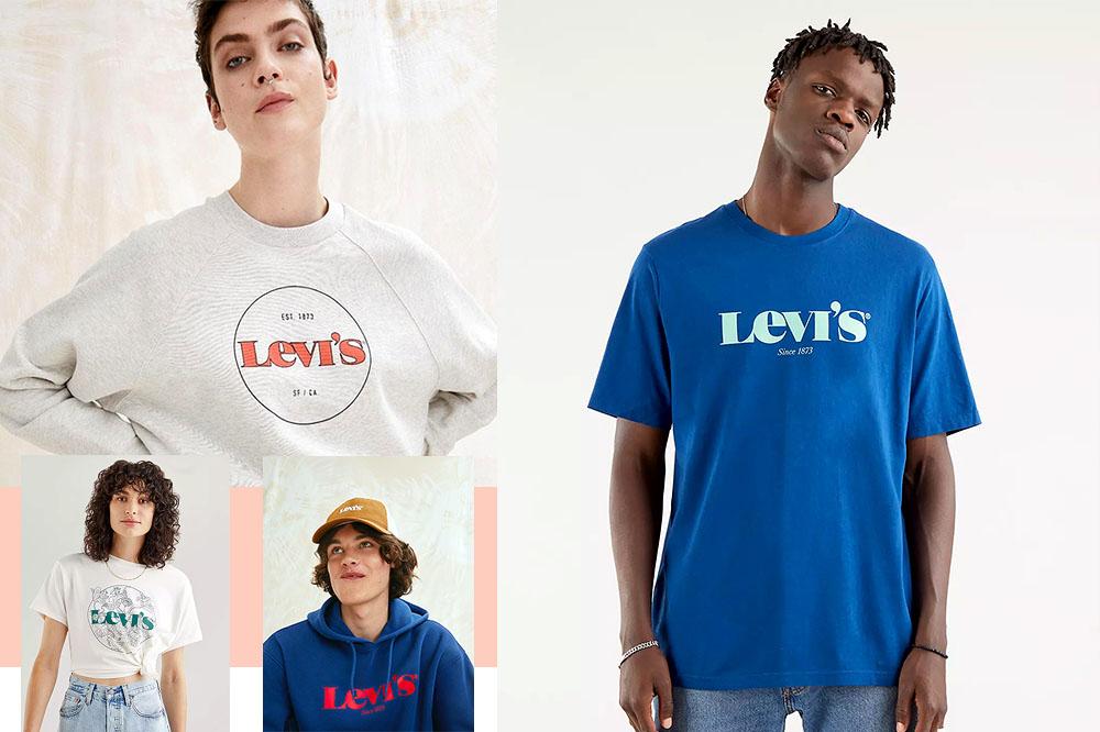 Levi's, il logo diventa vintage