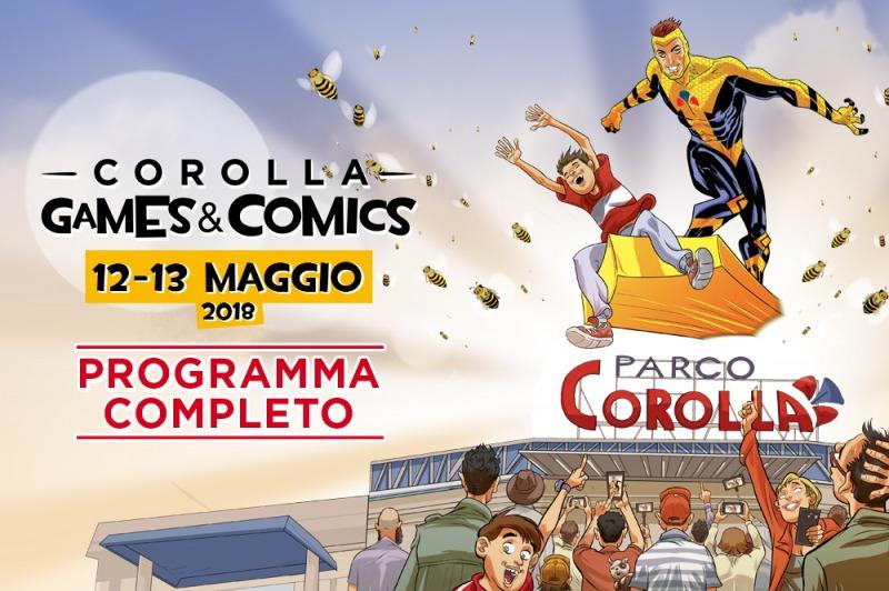 Corolla Games & Comics 2017 - Programma